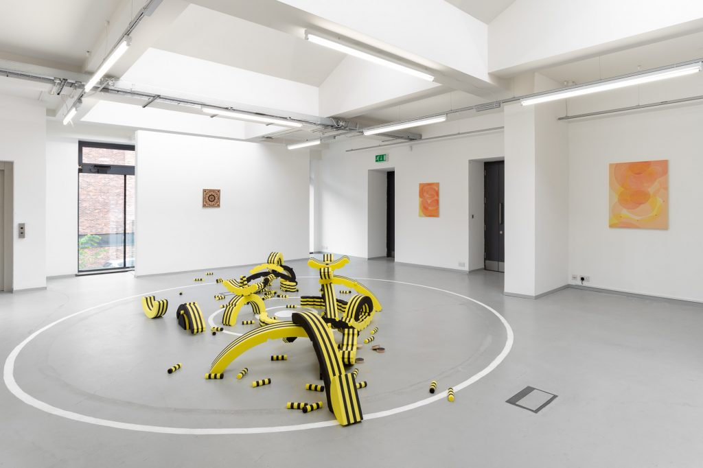 Yelena Popova's exhibition, Townlets at The Art House, Wakefield
