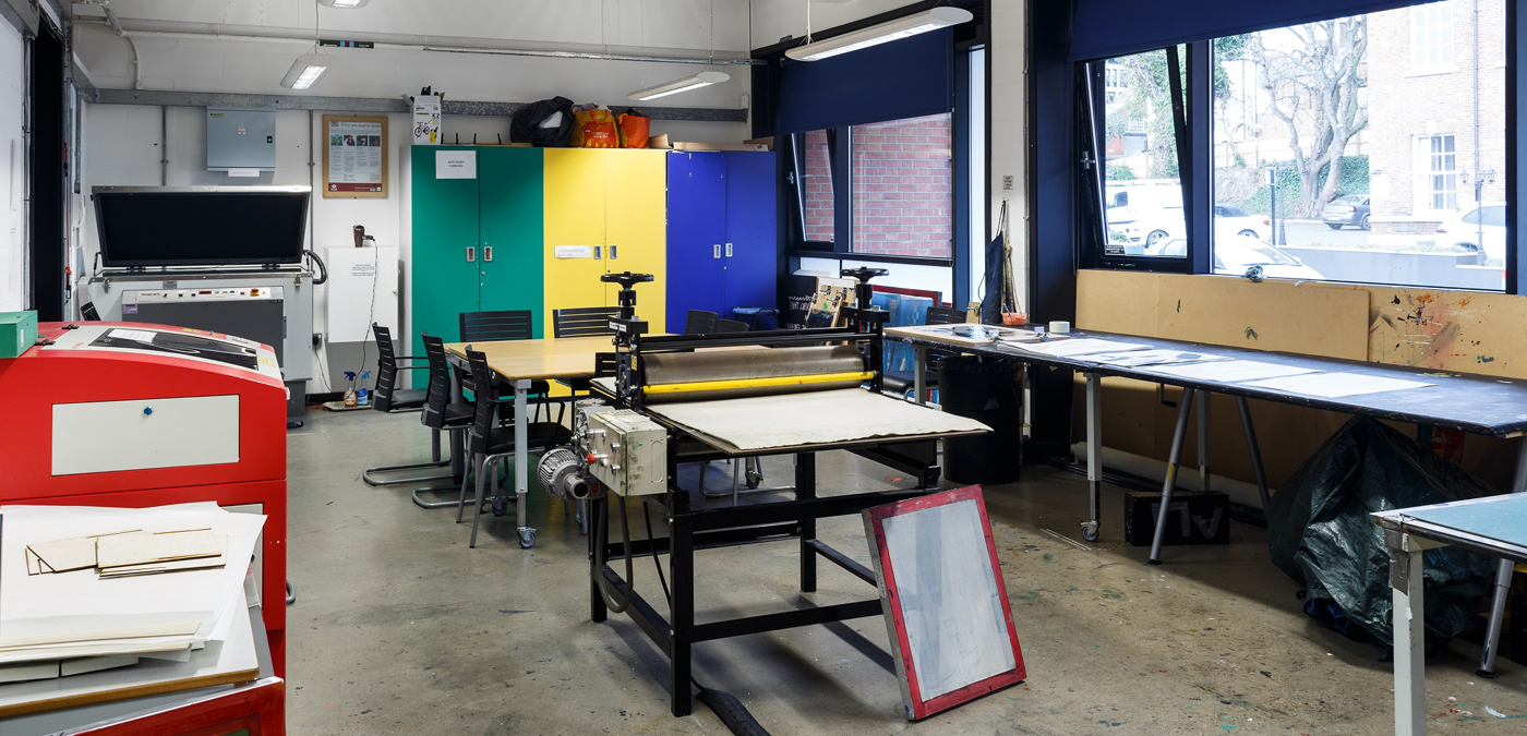 Professional Print Studio at The Art House, Wakefield, West Yorkshire