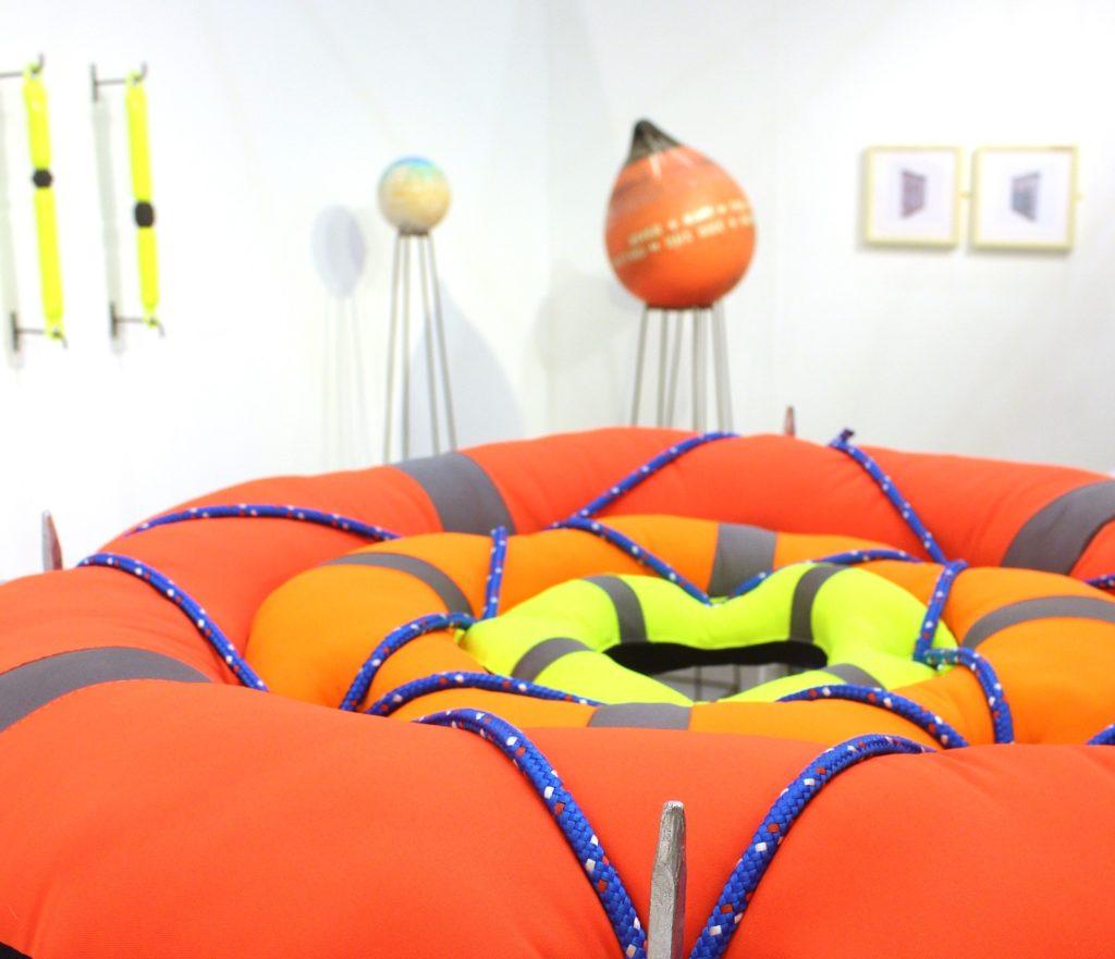 Shot of Undercurrent exhibition by Yoke