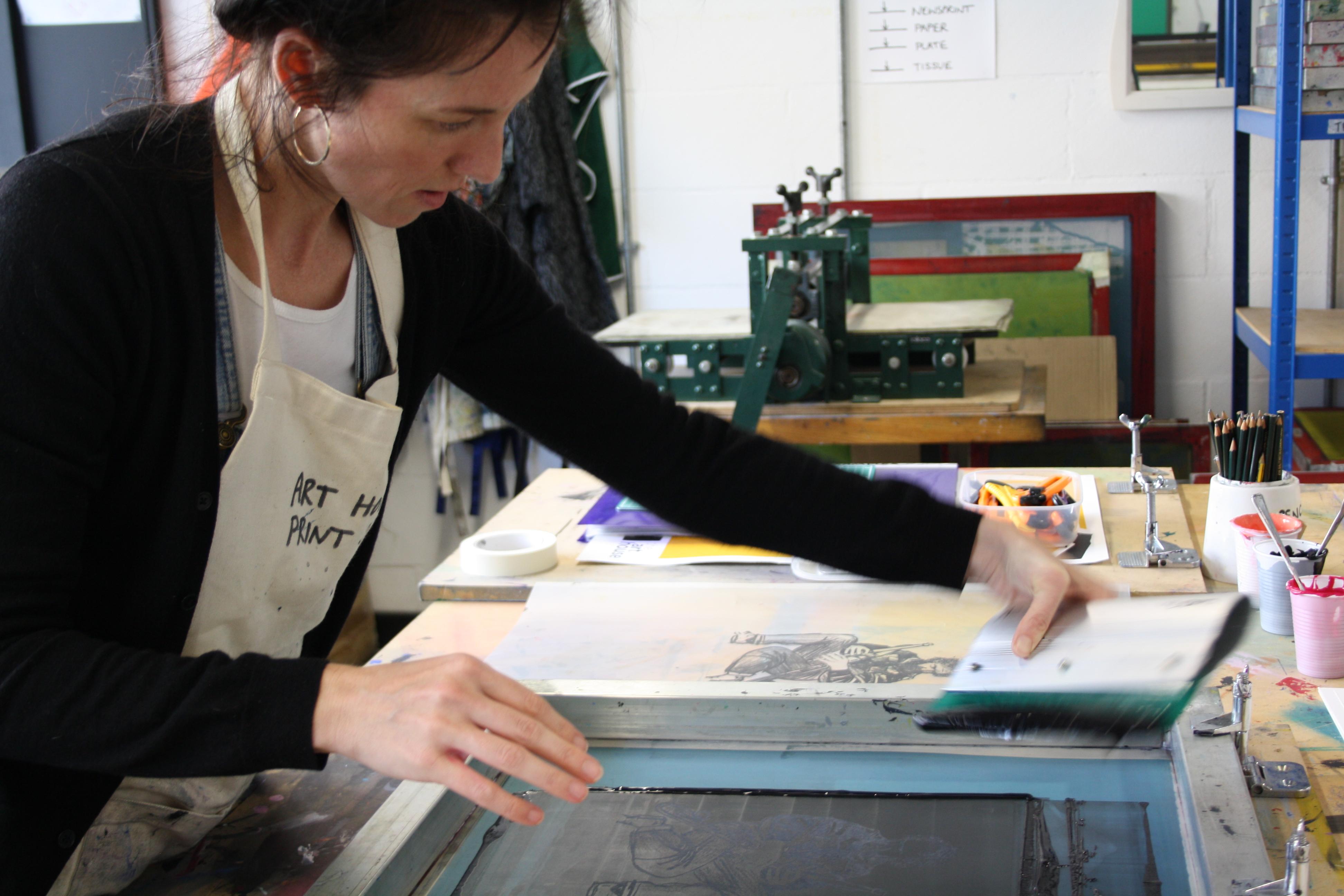 Print membership at The Art House, Wakefield