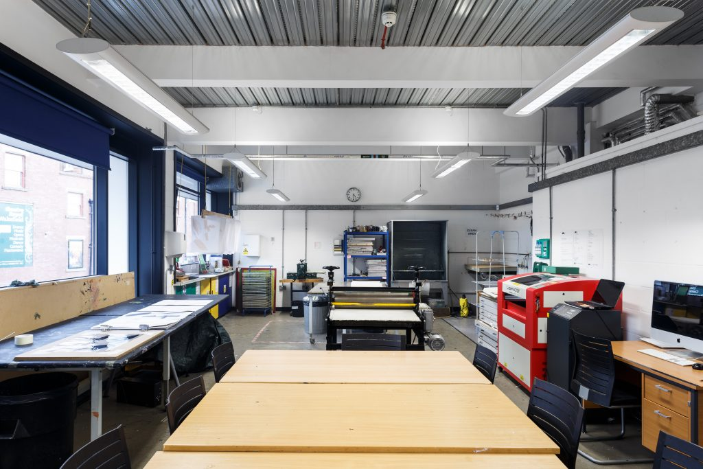 The Print Studio at The Art House, Wakefield, West Yorkshire