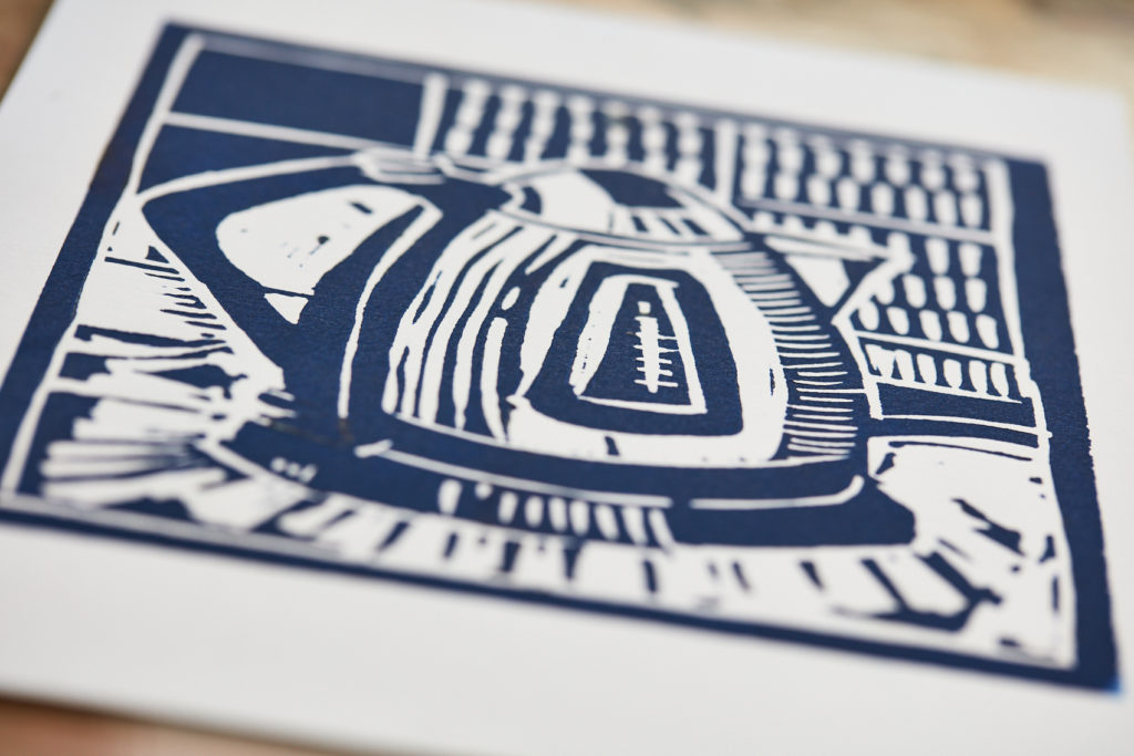 Lino Printing Workshop at The Art House