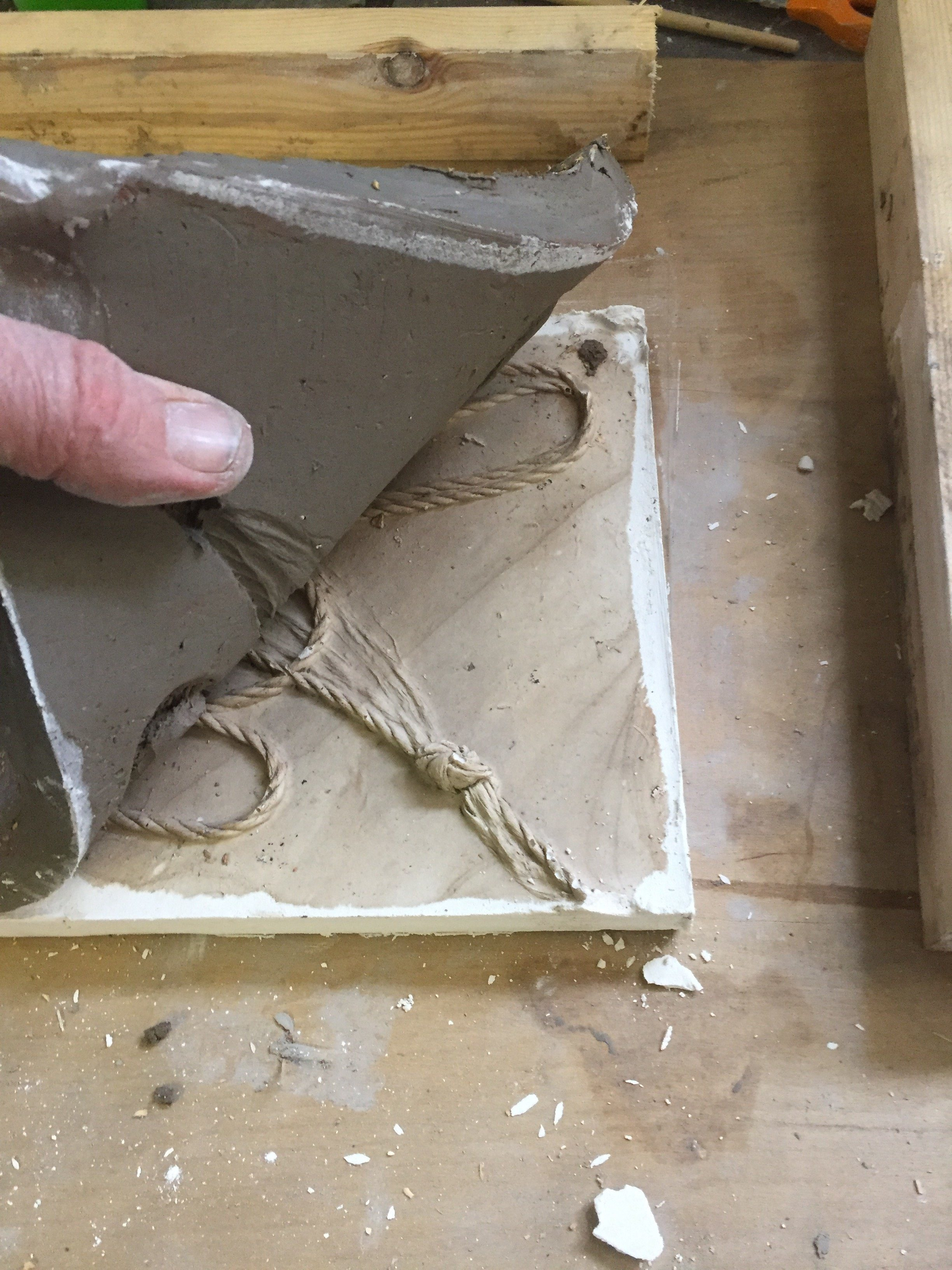 Plaster Relief Casting - Welcome to The Art House