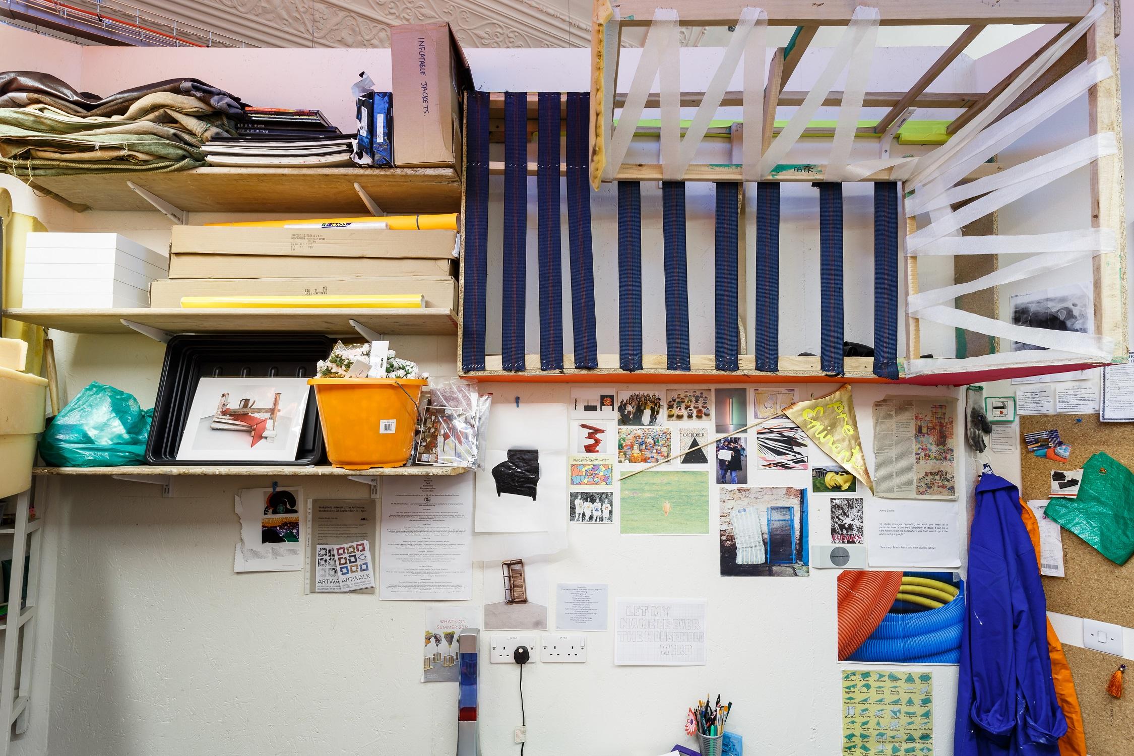 Artist studio at The Art House