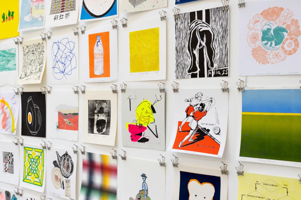 20:20 Print Exchange Exhibition, The Art House, 2018