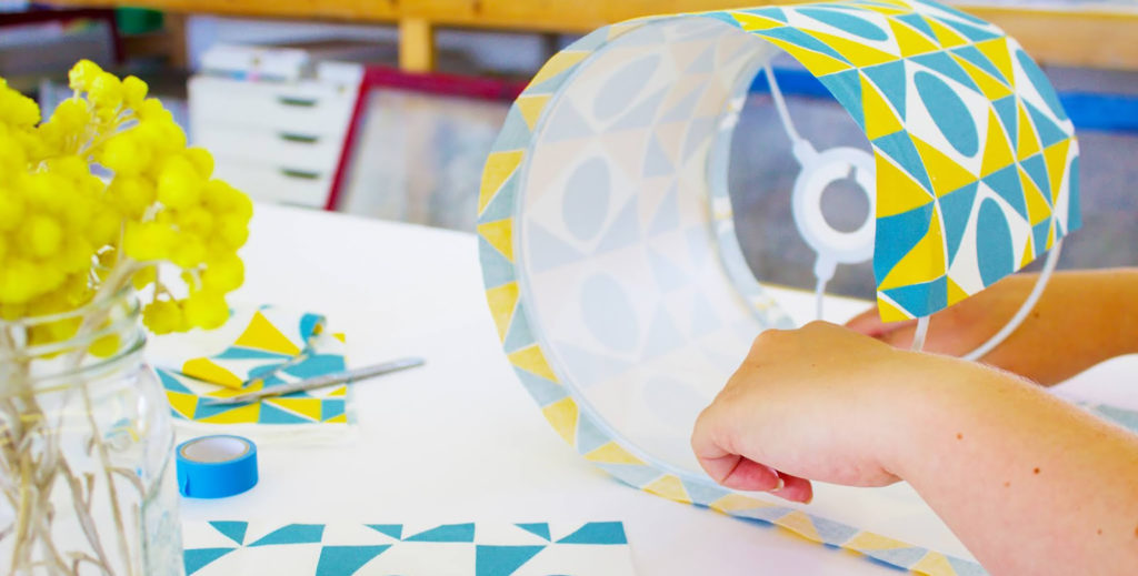 Screen Print your own Lampshade workshop at The Art House