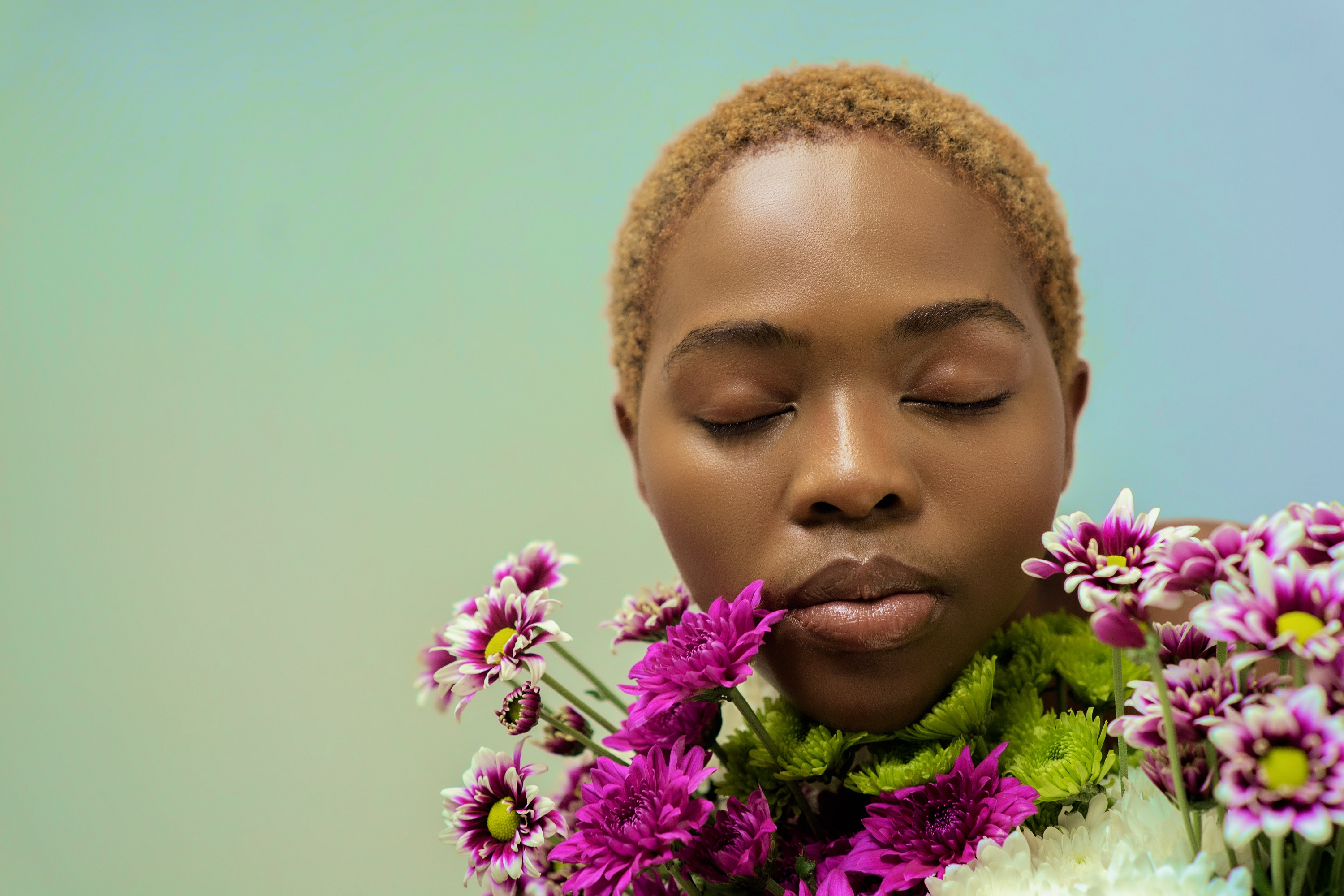 A study of femininity: a radically soft portraiture project, by south african woman photographer, cole ndelu.