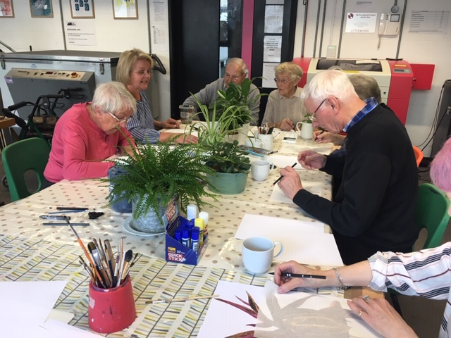 Creative Age workshops at The Art House