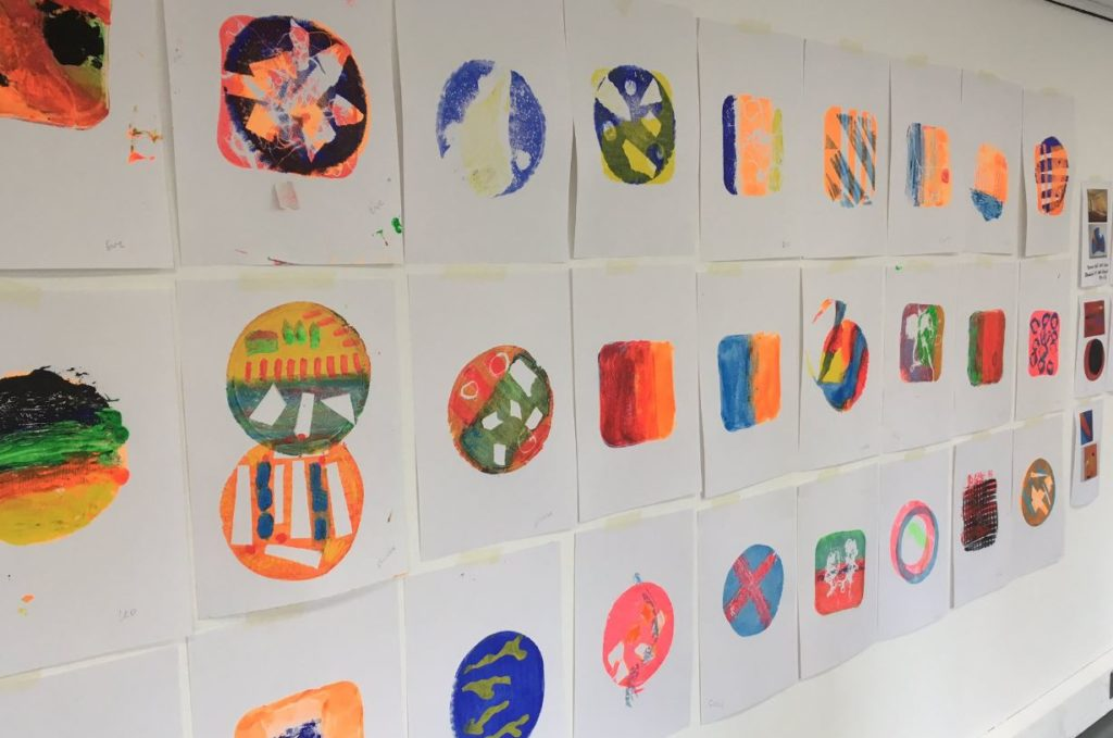 Gelli Printing Workshop at The Art House 2020