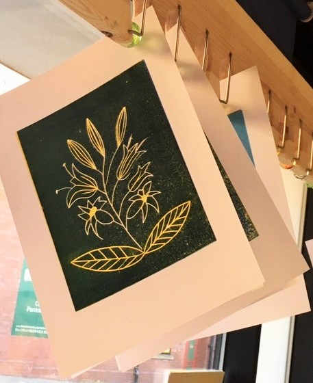 Lino Printing Workshop at The Art House 2020