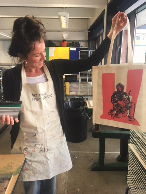 Screen Print Your Own Tote Bag Workshop at The Art House 2020