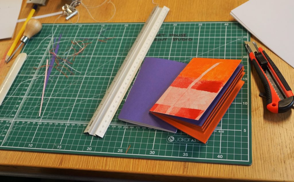 Bookbinding Workshop: Next Steps at The Art House