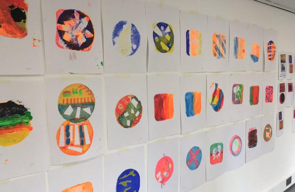 Gelli Printing Workshop The At House Wakefield