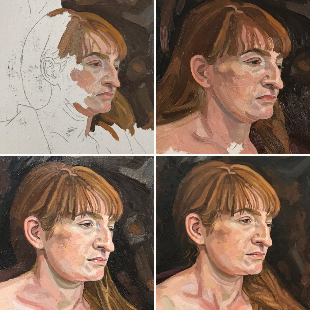 Portrait Painting with Richard Kitson at The Art House