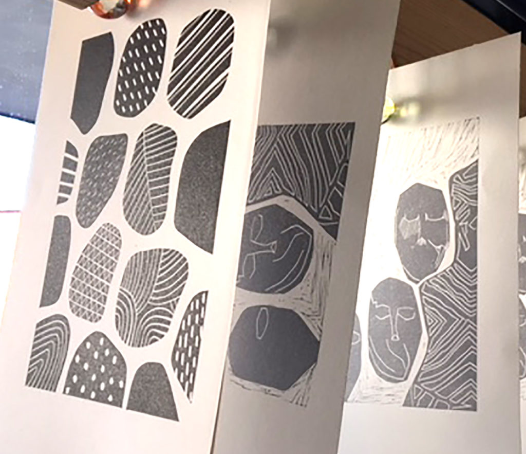 Lino Printing The Art House Print Studio