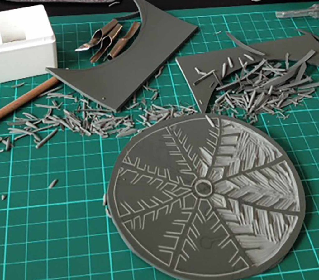 Lino Printing Christmas Cards, The Art House Wakefield