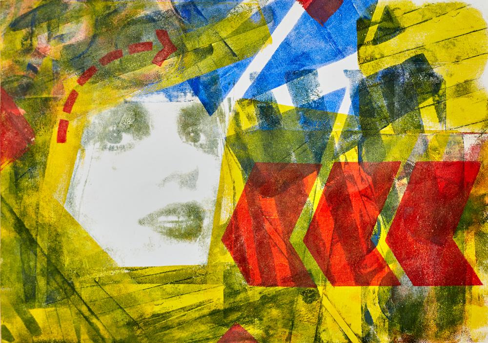 Pop Art Gep Print, Rachel Richardson