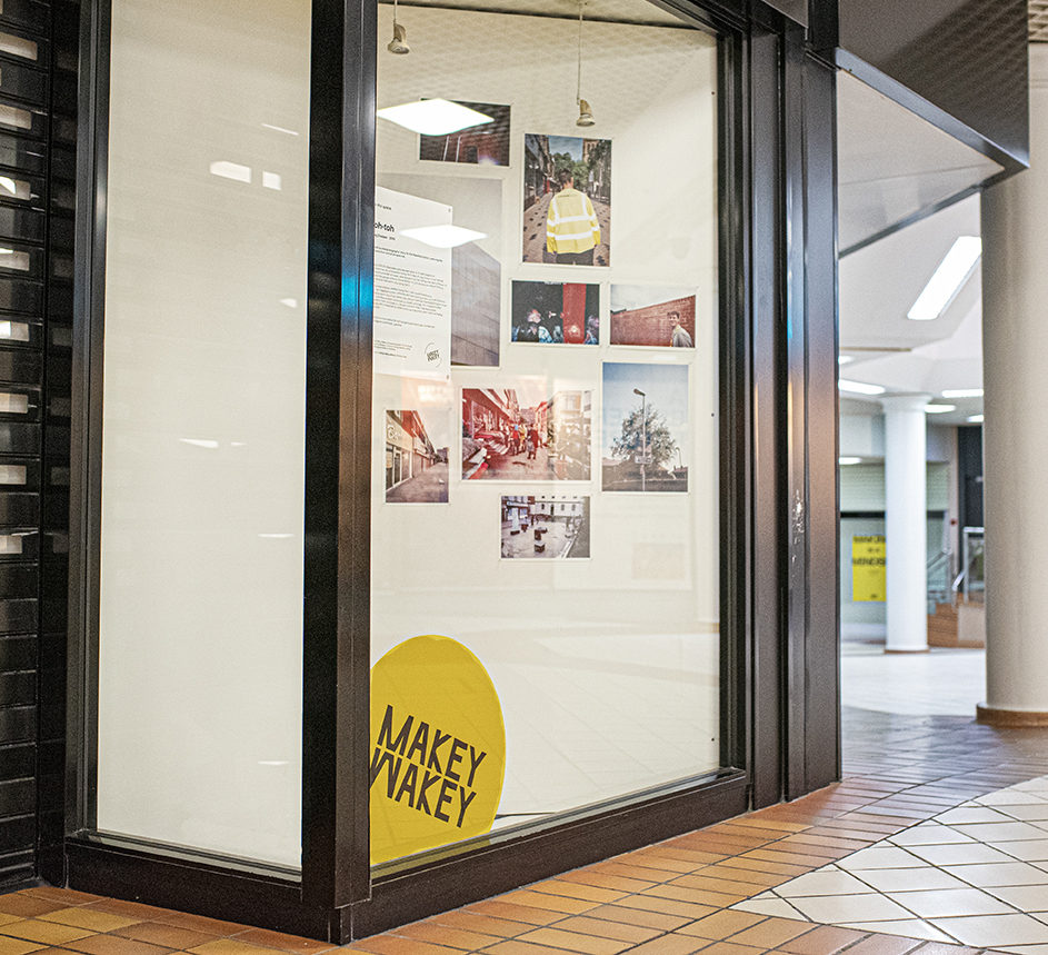 Foto exhibition in unit at The Ridings shopping centre