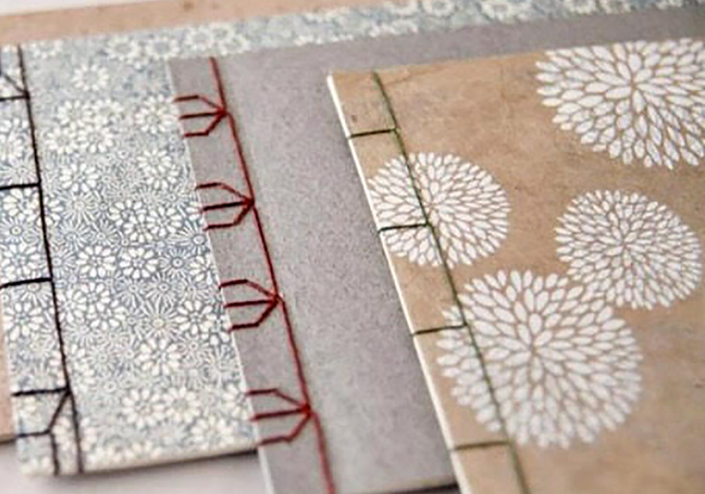 Introduction to Bookbinding workshop at the art house Wakefield