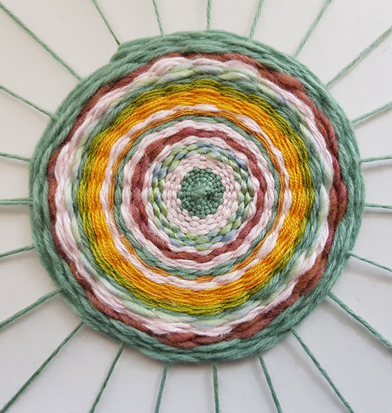 Circular Weaving Workshop at The Art House Wakefield