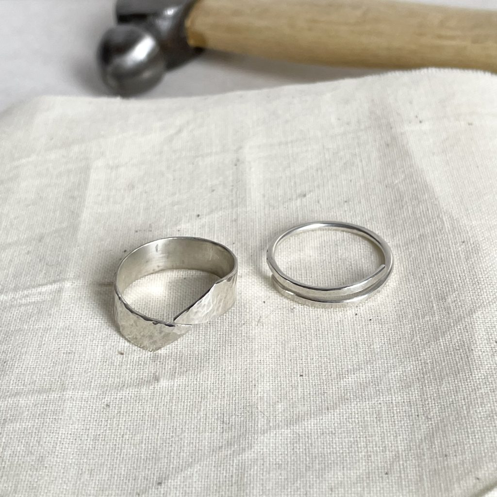 Silver Wrap Ring Workshop at The Art House Wakefield